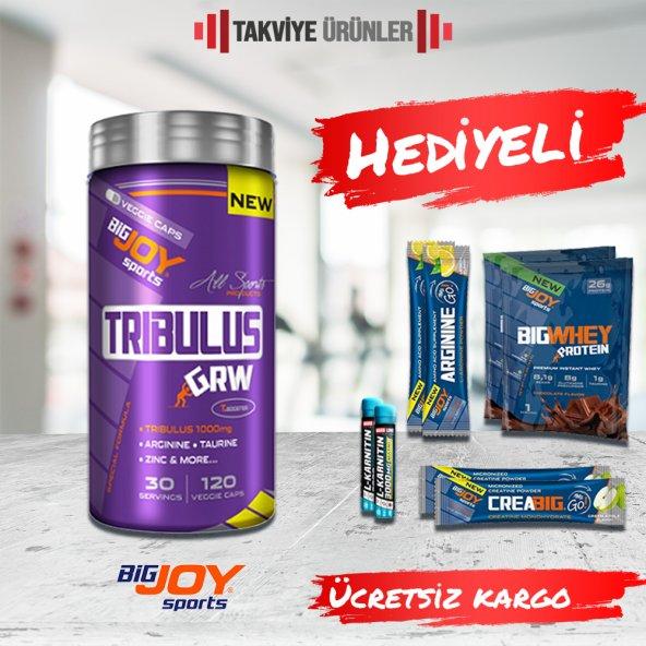 Bigjoy Tribulus Grw 120 Bitkisel Kapsül + Hediyeli