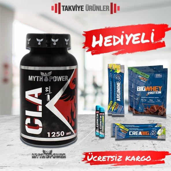 MythPower CLA 1250 mg 99 Kapsül + 2 Hediye