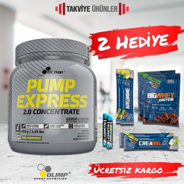 Olimp Pump Express 660 gr Pre-Workout + 2 Hediye