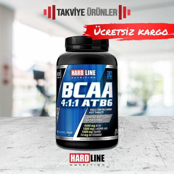 Hardline BCAA 4:1:1 ATB6 120 Tablet Amino Asit
