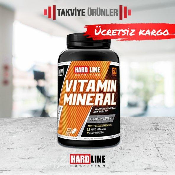 Hardline Vitamin Mineral 120 Tablet Multivitamin