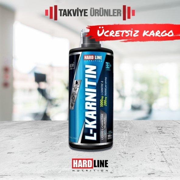 Hardline L-Karnitin Sıvı 1000 ml L-Carnitine