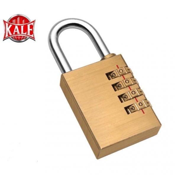 Kale Şifreli Asma Kilit Prinç KD001/21-300