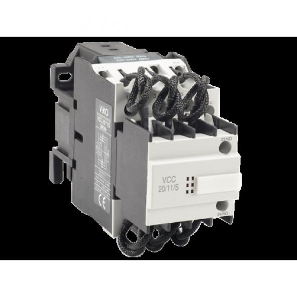 Viko Kompanizasyon Kontaktörü 12,5kVAr 1NO+1NC VCC-12/11/S