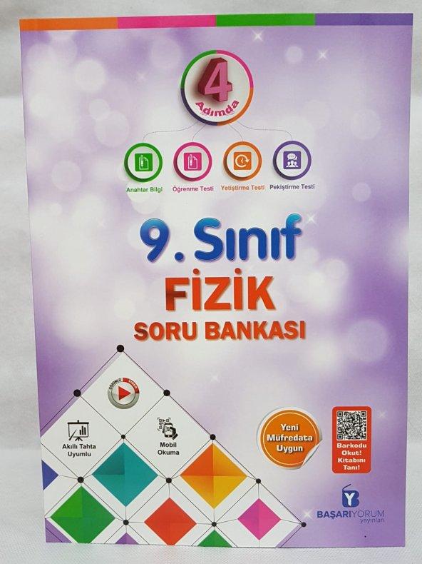 BAŞARIYORUM 4 ADIMDA 9.SINIF FİZİK SORU BANKASI