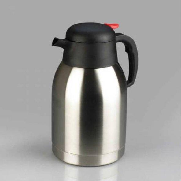 Çay Termosu 2 Lt İnox Sıcak Su Termosu