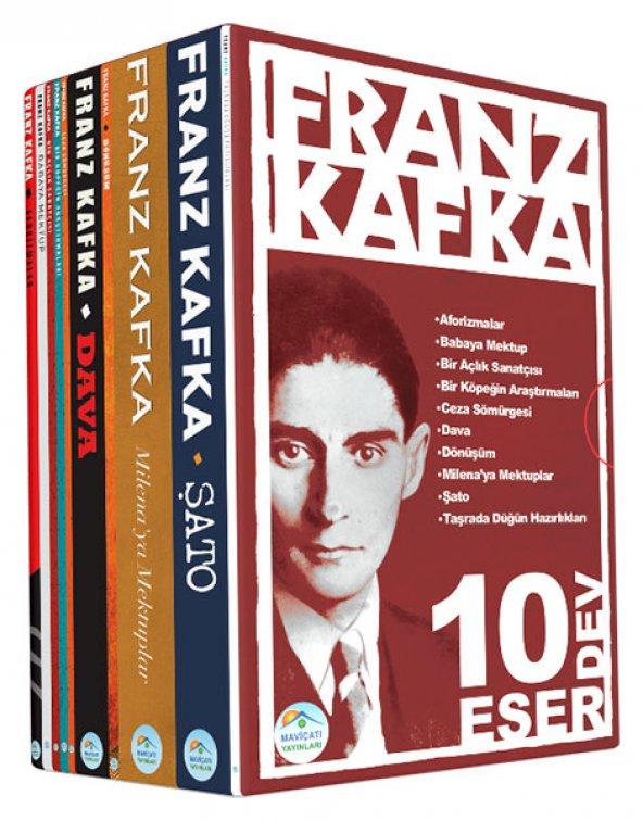 Franz Kafka Seti (10 Kitap) Roman Seti