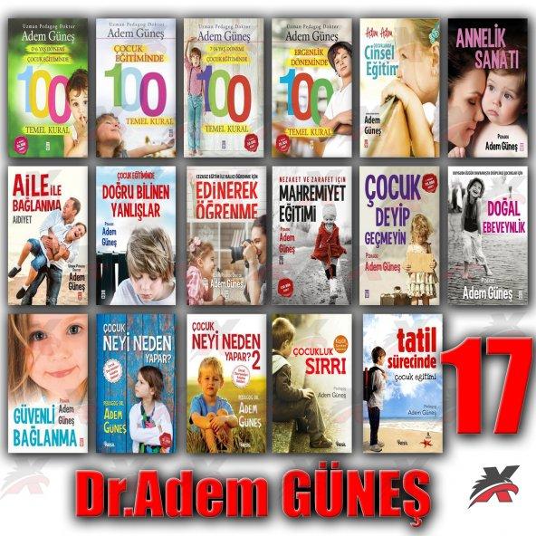 PEDAGOG DR. ADEM GÜNEŞ 17 KİTAP ÇOCUK EĞİTİM AİLE SETİ