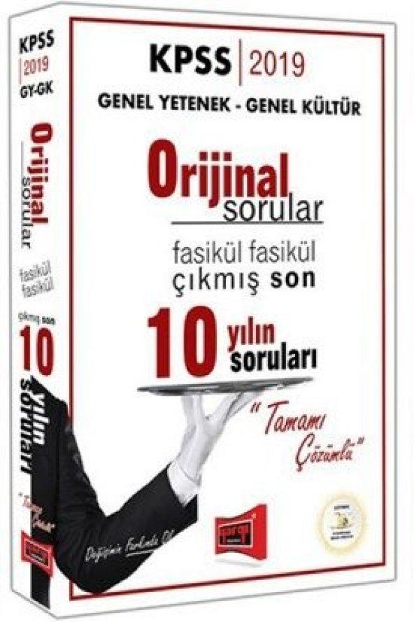 Yargı Yayınları 2019 KPSS Genel Yetenek+Kültür Son 10 Yıl Sorular