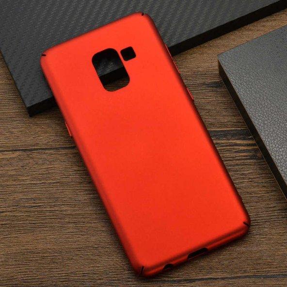 Samsung Galaxy A8 2018 Kılıf Olix 3A Rubber Kapak