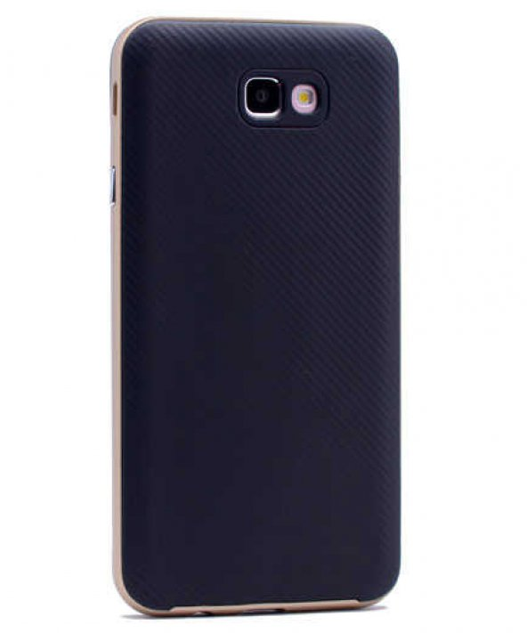 Samsung Galaxy J5 Prime Kılıf Olix İnce Mono Karbon Silikon Kapak