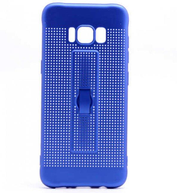 Samsung Galaxy S8 Kılıf Olix Jaguar Standlı Silikon