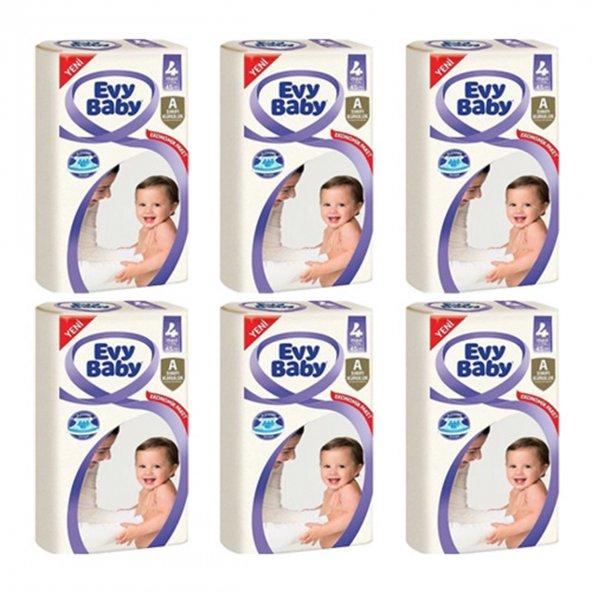 Evy Baby Bebek Bezi 4 Beden 7-18 Kg 45x6:270 Adet