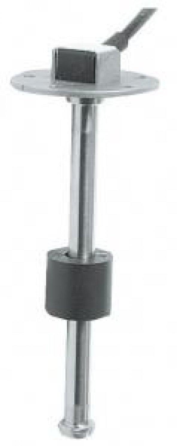 Su/yakıt şamandırası, paslanmaz çelik