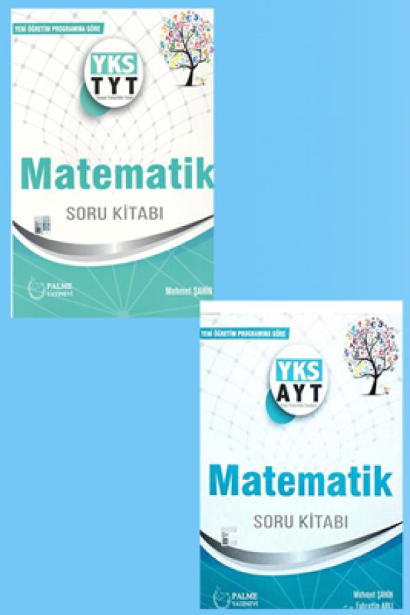 YKS TYT AYT Matematik Soru Bankası Seti Palme Kitabevi
