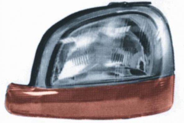 Ön Far Sol Renault Kangoo 98-