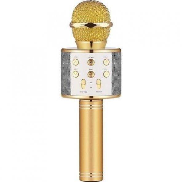 Sihirli Kareoke Mikrofon WS858 4 RENK
