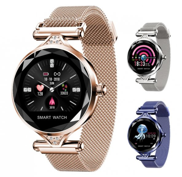 Olix H1 Smart Watch Bayan Akıllı Saat Nabız Ölçer Uyku ve Spor Faliyetleri