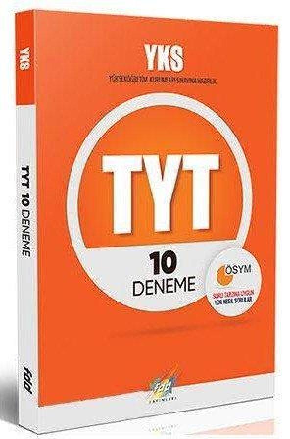 Fdd YKS 1.Oturum TYT 10 lu Deneme Sınavı