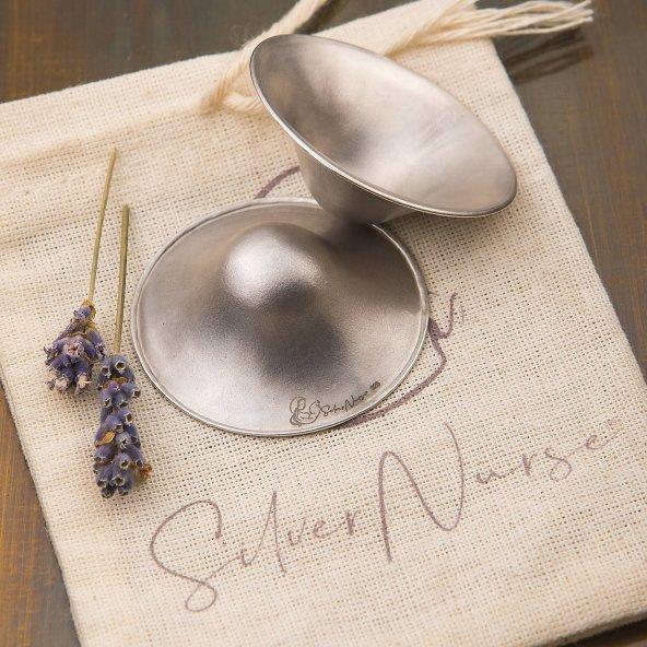 SilverNurse Koruyucu Gümüş Göğüs Kapakları
