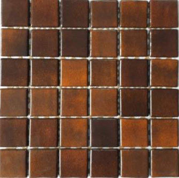 50 x 50 mm. Mutfak Tezgah Arası Cam Mozaik