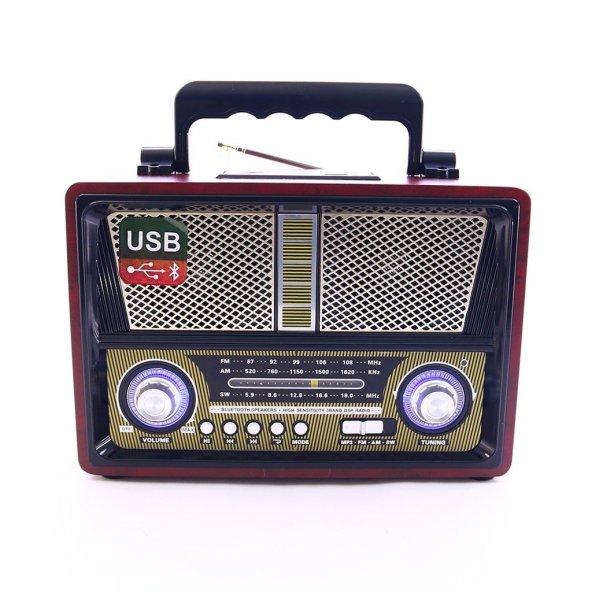 Kemai MD-1802BT Bluetooth Usb Sd Fm Nostaljik Görünümlü Radyo