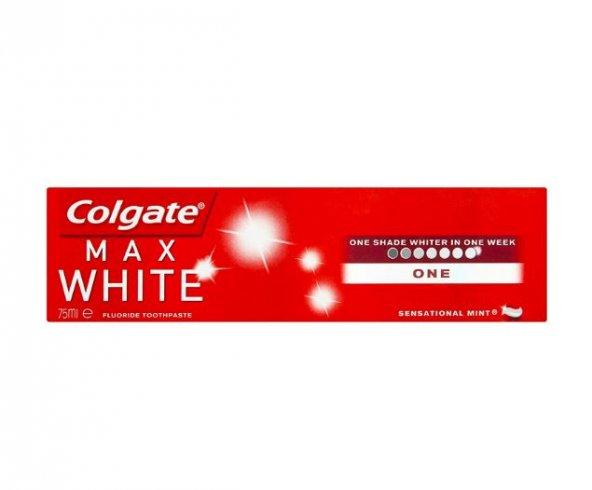 COLGATE MAX WHİTE ONE