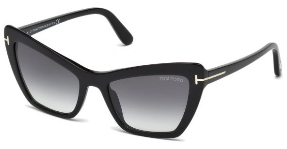 Tom Ford Valesca-02 FT0555 01B 55 Kadın Güneş Gözlüğü
