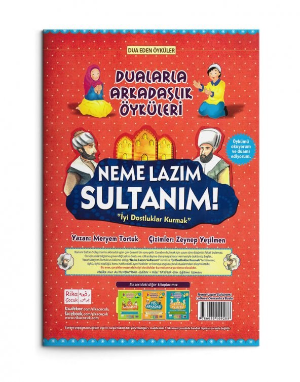 Neme Lazım Sultanım! (Osmanlıca-Latince)