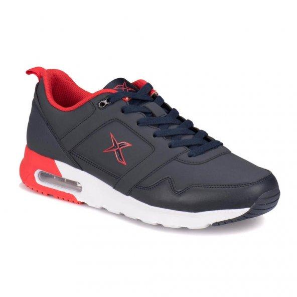 Kinetix Sandor 1311193 Lacivert-Kırmızı Erkek Spor Ayakkabı