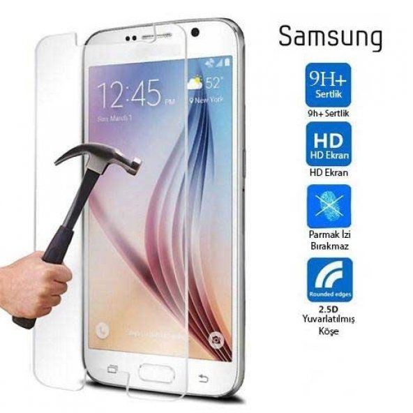 Samsung Galaxy J5 J530 Kırılmaz Cam Ekran Koruyucu