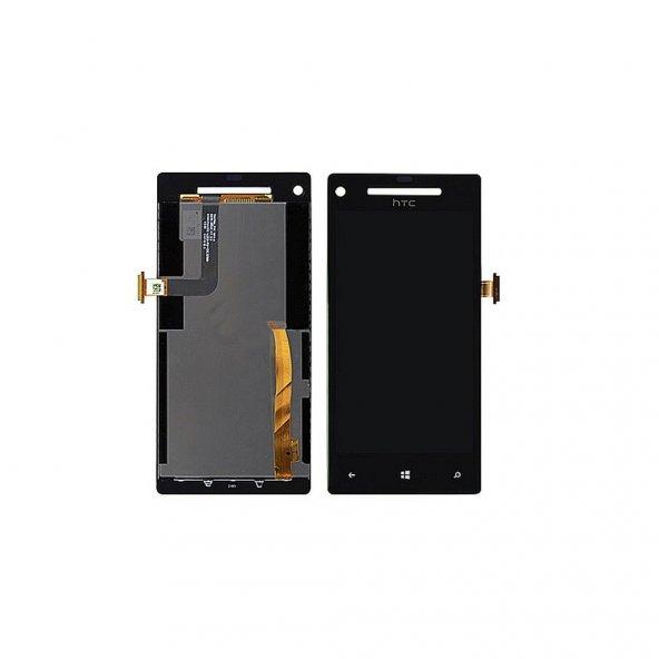 HTC Windows Phone 8X LCD Ekran Dokunmatik + Tamir Seti
