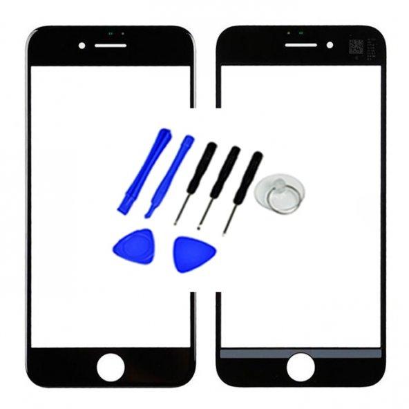 Apple iPhone 7 Ocalı Ön am Dokunmatik Lens +Tamir Seti