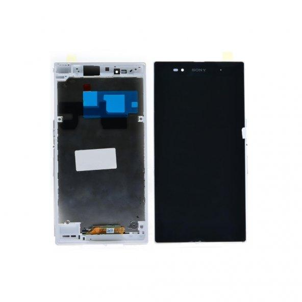 Sony Xperia Z Ultra XL39h LCD Ekran Dokunmatik Panel + Tamir Seti