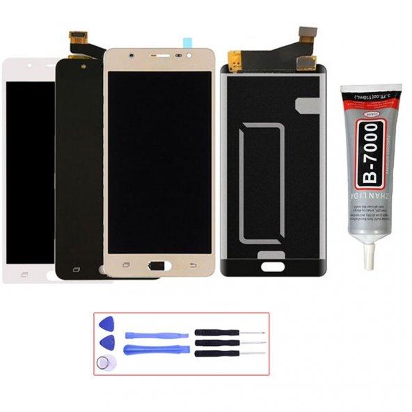 Samsung Galaxy J7 Max LCD Ekran Dokunmatik Panel + Montaj Seti