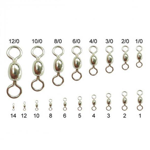TY-10001 Çelik Bilyeli Fırdöndü (6lı) No:5