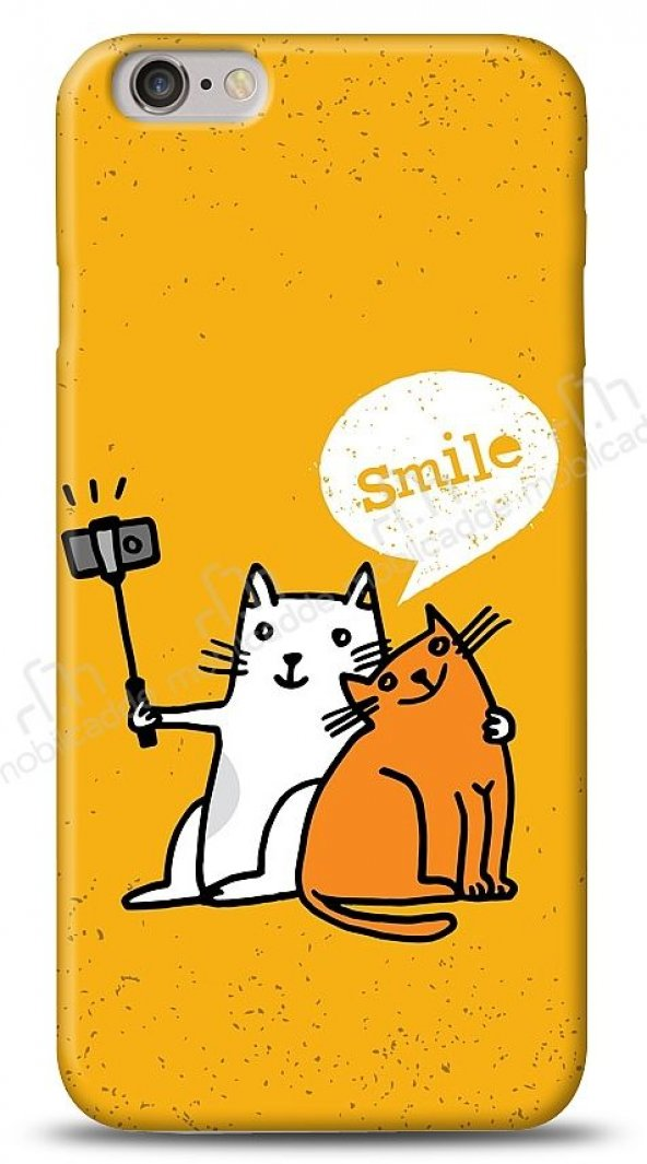 Dafoni iPhone 6 Plus Selfie Cat Kılıf