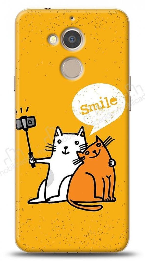 General Mobile GM 8 Selfie Cat Kılıf