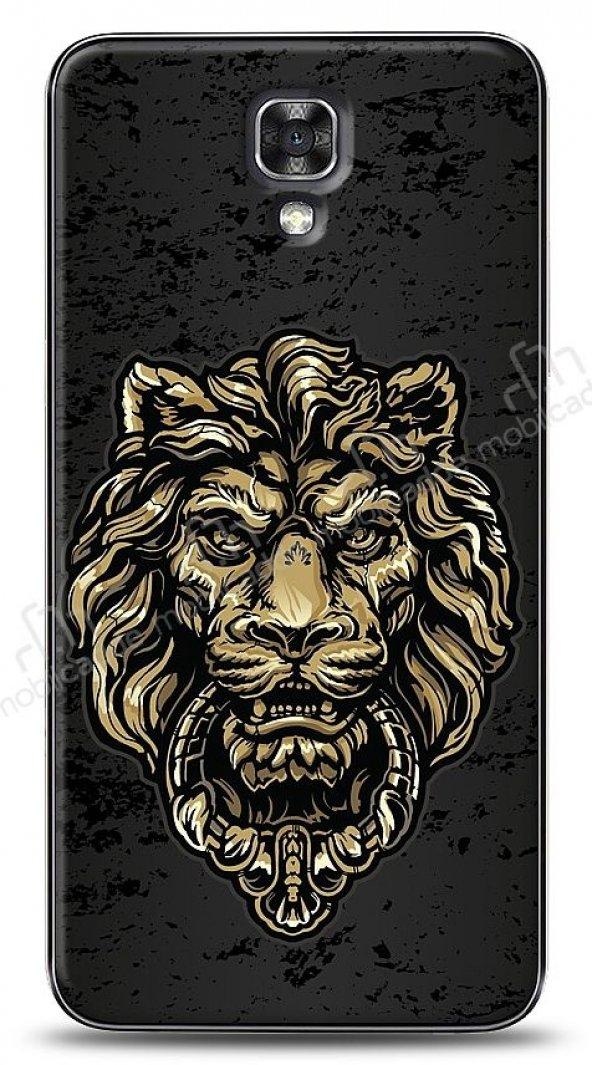 Dafoni LG X screen Gold Lion Kılıf