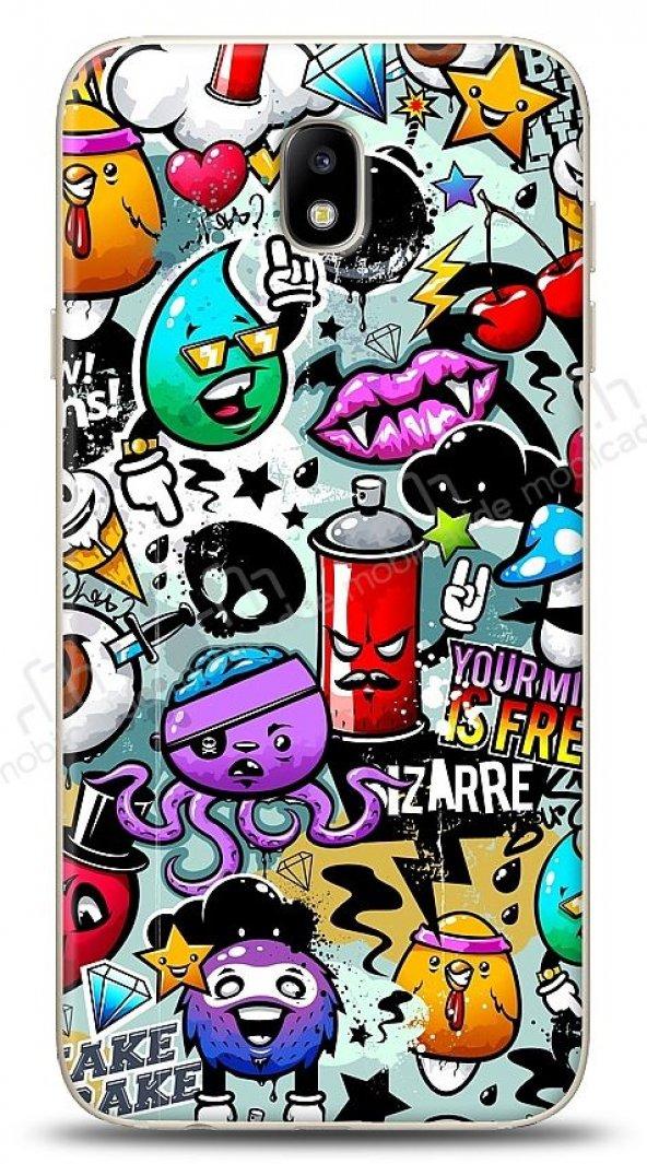 Samsung Galaxy J7 Pro 2017 Grafitti 2 Kılıf