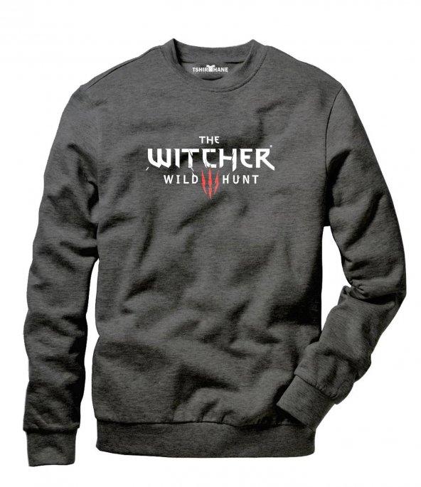 Tshirthane Witcher - Geralt Of Rivia Erkek Uzun Kollu Sweatshirt