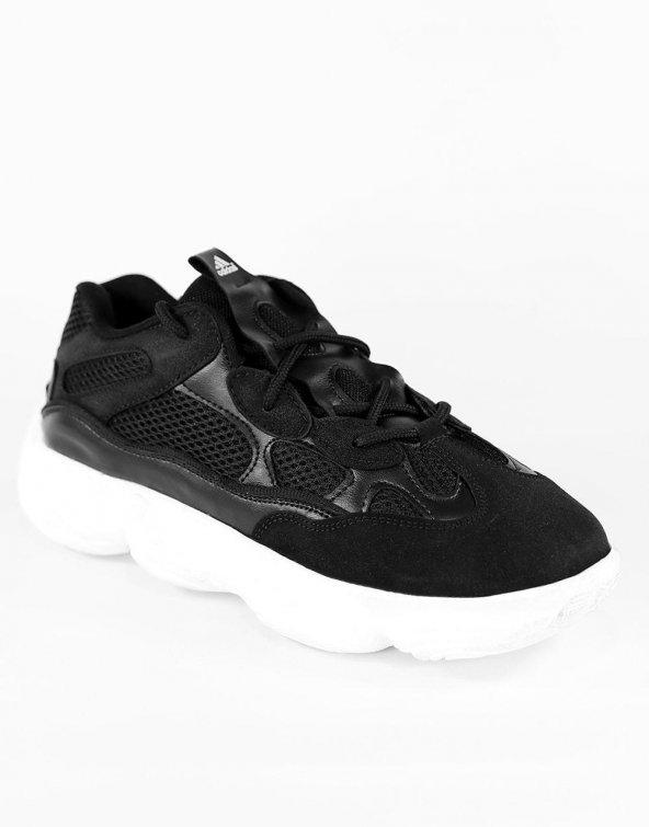 500 Sneaker Premium Siyah Beyaz Unisex Shoes