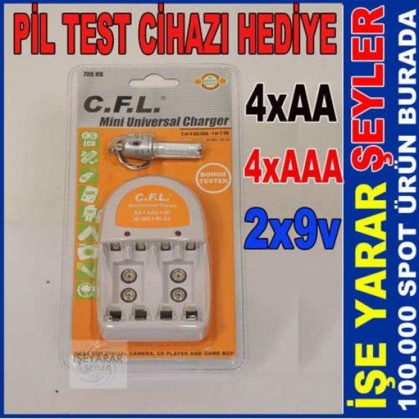 CFL 700 HB UNİVERSAL PİL ŞARJ CİHAZI