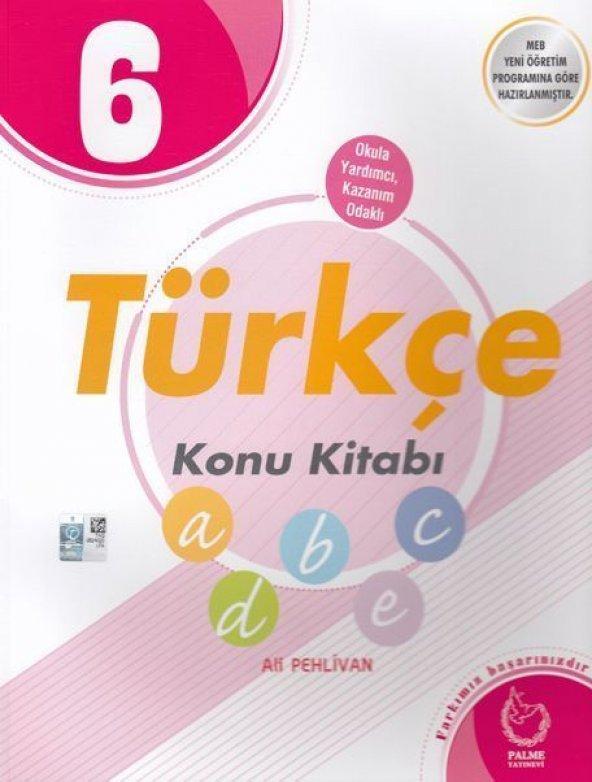 Palme Yayınları 6. Sınıf Türkçe Konu Kitabı