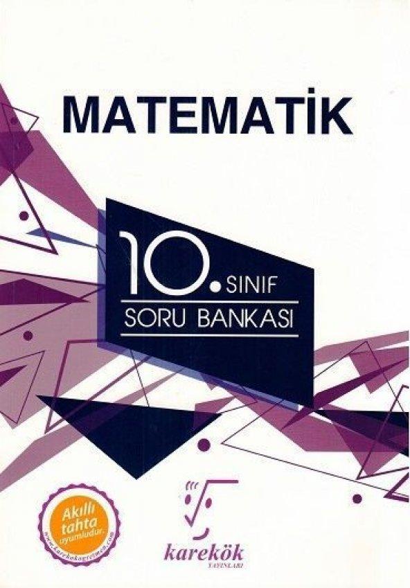 Karekök Yayınları 10. Sınıf Matematik Soru Bankası