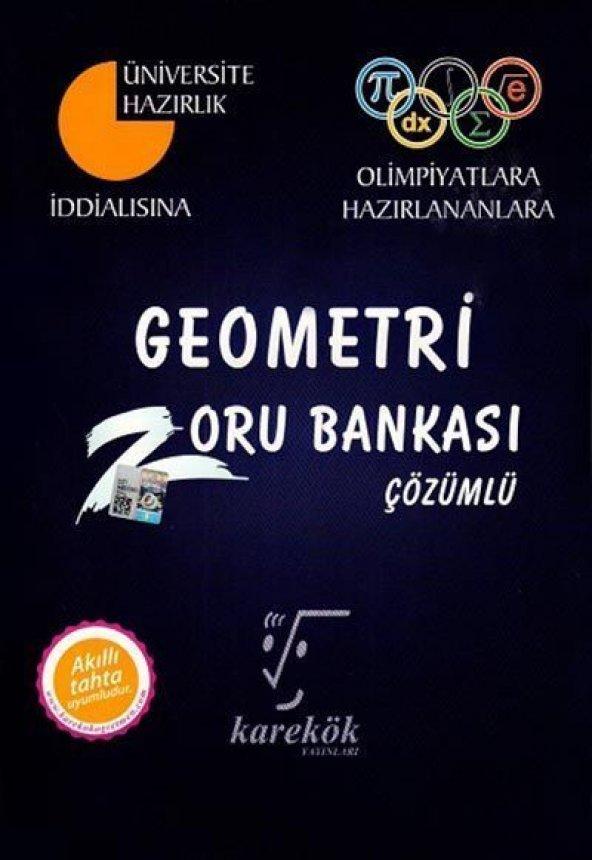 Karekök Yayınları Geometri Zoru Bankası Çözümlü