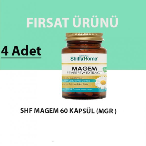 Shiffa Home Magem Migren Kapsül (4 Adet)