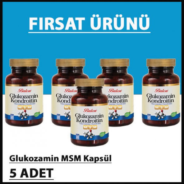 Glukozamin MSM KAPSÜL (5 Adet)