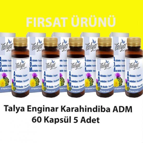 Enginar Karahindiba ADM Kapsül 60lı (5 Adet)
