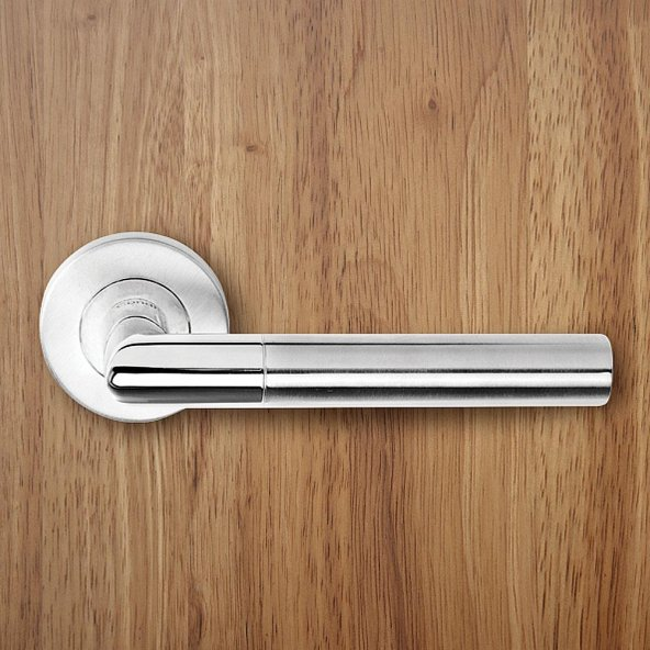 Condi Rozetli Kapı Kolu 103 Saten Krom, ODA, YALE, WC